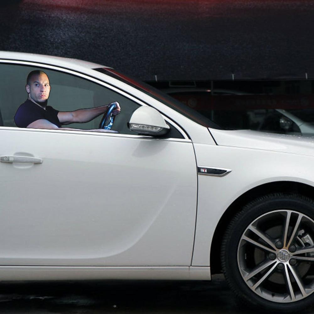 Aliauto Car Styling Fast Furious Vin Diesel Car Window Sticker