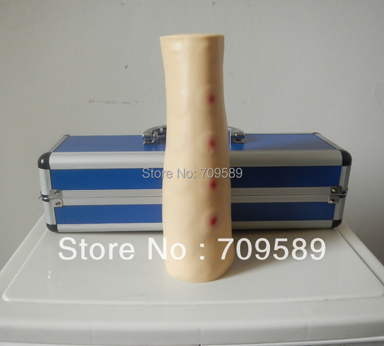 advanced intradermal injection model iv arm economic injectable training arm model with infusion stand iv arm injection teaching model