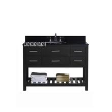 FM0611 напольный резиновый деревянный шкаф для ванной комнаты, мраморный столешница для раковины, современный простой комбинированный шкаф для раковины