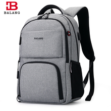 BALANG 2017 Men's Backpacks Unisex Multipurpose Women Backpack School Bags for 15.6 Laptop Notebook Waterproof Mochila Feminina