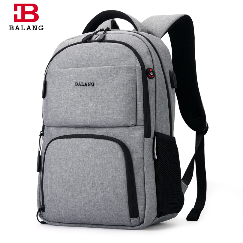 BALANG 2019 Men's Backpacks Unisex Multipurpose Women Backpack School Bags For 15.6 Laptop Notebook Waterproof Mochila Feminina