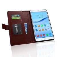 オリジナル財布カードスタンド革保護ケースのためのhuawei mediapad m3 BTV-W09 BTV-DL09 8.4インチタブレットアクセサリーケースカバー