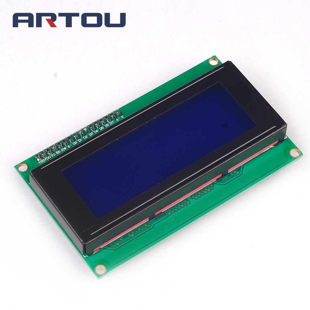 1PCS 2004 20X4 Character LCD Module 20X4 LCD Blue Display Serial IIC/I2C/TWI PCB Board