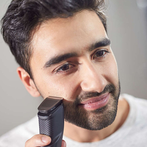 Philips BT1214 Electric Shaver with NiMH Battery Type Titanium Blade Rechargeable Philips Trimmer Machine for Men hair clipper Multan
