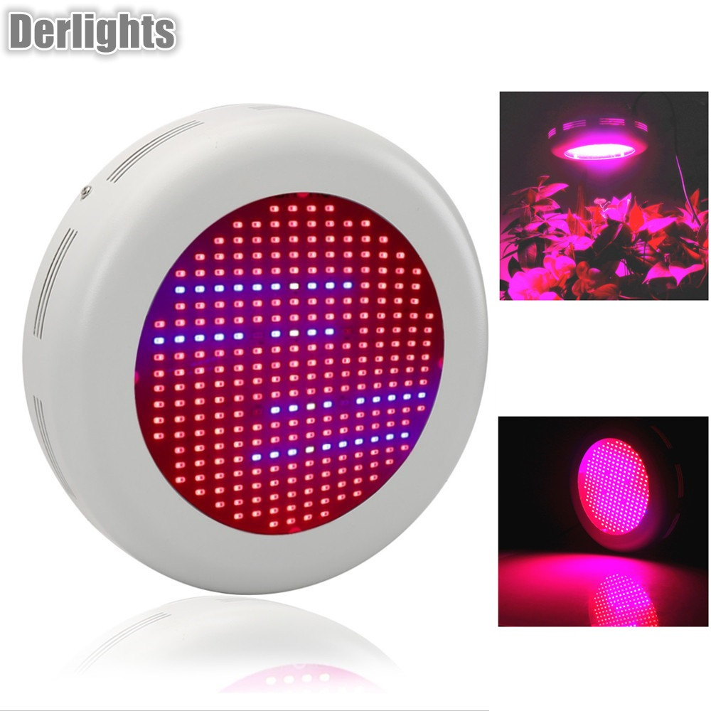 UFO 300W Full Spectrum Led Grow Light Red/Blue/White/UV/IR Flower Plants led grow lights for indoor plant full spectrum 300w led grow light ufo led plant lamp uv ir grow tent lighting for garden park flowering plants