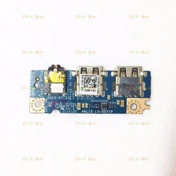 Original FOR Dell Inspiron 15 3559 5559 5558 USB Audio Jack Port Board 02WMGK 2WMGK LS-D071P Perfect work image