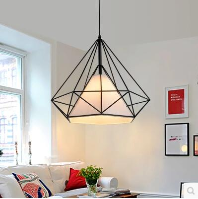 Free shipping 5033S Modern Brief Loft European style Diamond Designer pendant lamp light new arrival modern chinese style bamboo wool lamps rustic bamboo pendant light 3015 free shipping