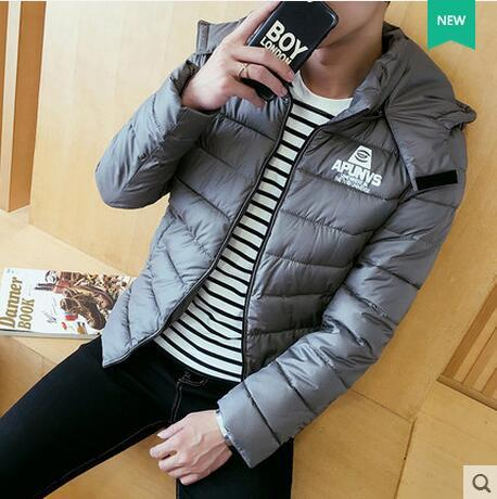 TG6006 Cheap wholesale hot sale 2016 autumn winter new men fashion casual Warm cotton-padded jacket