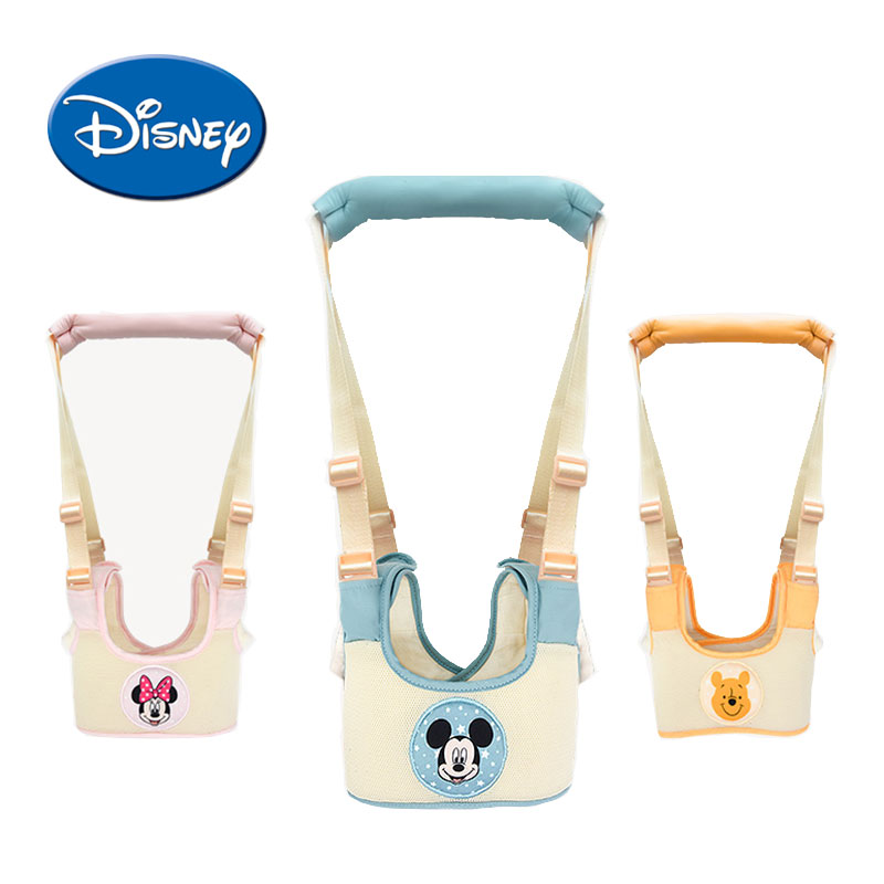 Disney Baby Walker Baby Harness Assistant Toddler Leash for Kids Learning Walking Baby Belt Child Safety Harness Assistant yourhope baby toddler harness safety learning walking assistant blue