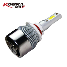 KobraMax LED Car Headlight C6 Model 9005 Universal 6000K 4000lm 36W ( Sold in Pair)