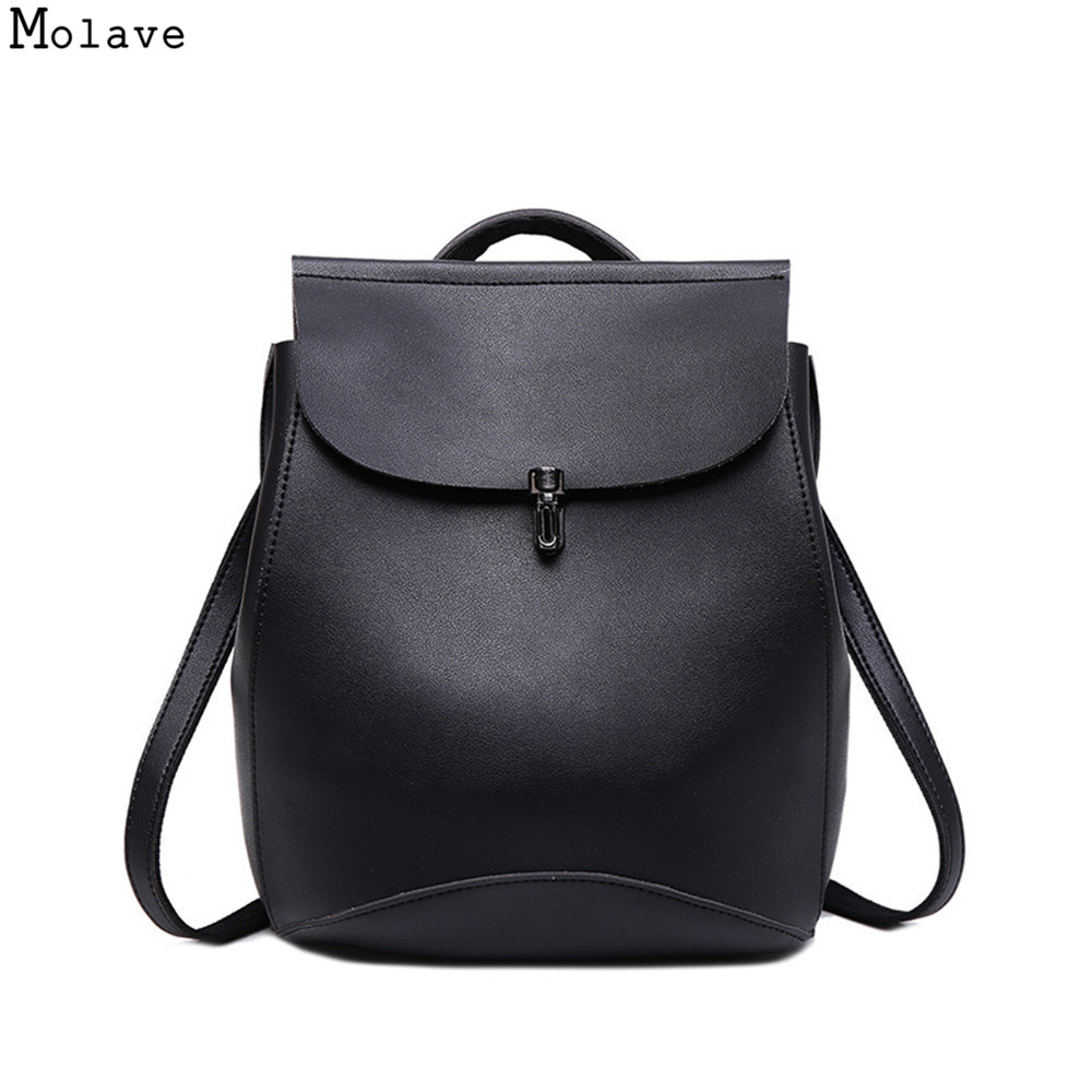 New Fashion Women Backpack Youth PU Leather Backpacks for Teenage Girls New Female School Bag Bagpack mochila sac a dos se273