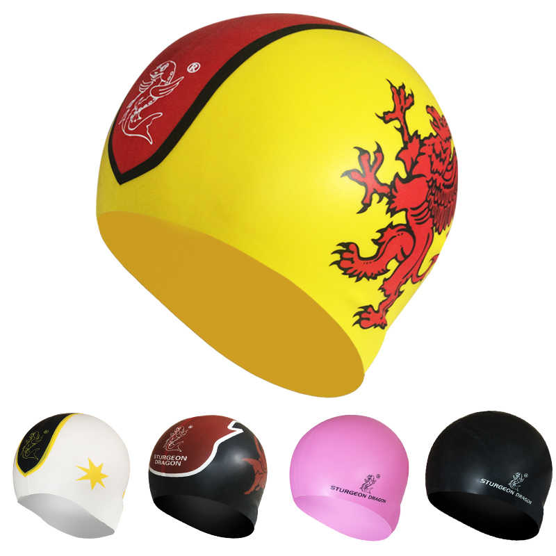 Silicone diving Swim swimming cap caps hats for man women Adults