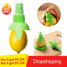1 Pcs/set Lemon Orange Sprayer Jus Buah Citrus Semprot Dapur Jus Buah Segar Meremas Alat DIY Protable Dapur Memasak Alat Baru(China)
