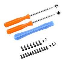 Öffnung Zerlegen Reparatur Teile Werkzeuge Kit T8 T6 Schraubendreher mit Schrauben für XBOX ONE /S Dünne diejenigen/Elite gamepad Controller