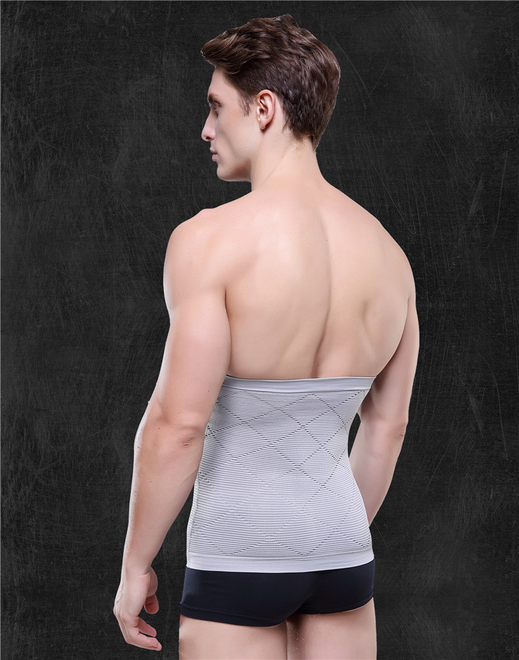 1 PC Karcsúsító öv Belly Men Body Shaper Férfi has Thermo Tummy Shaperwear derék verejték fűző fogyás