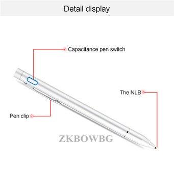 стилус с сенсорным экраном | Активный стилус для сенсорного экрана, емкостный сенсорный экран Экран для смартфонов, планшетов, T10s T20 T10 P80H Octa X10 X98 P98 Hp Elite X2 G1 G2 планшет кара...