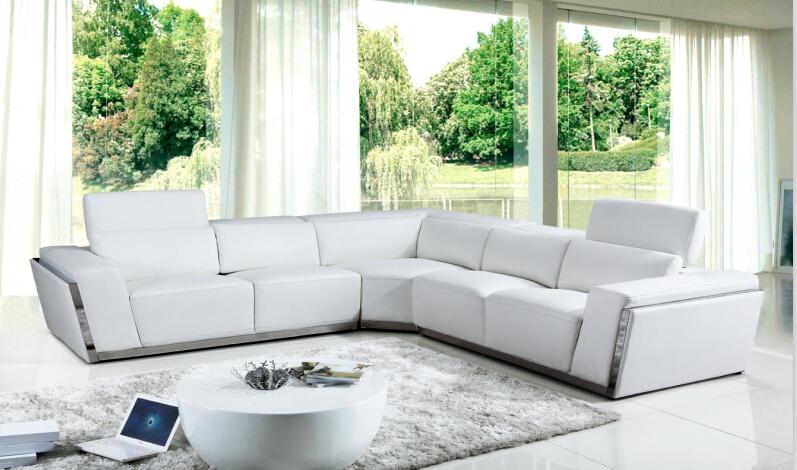 moderne ecksofa-kaufen billigmoderne ecksofa partien aus china ... - Moderne Wohnzimmer Sofa