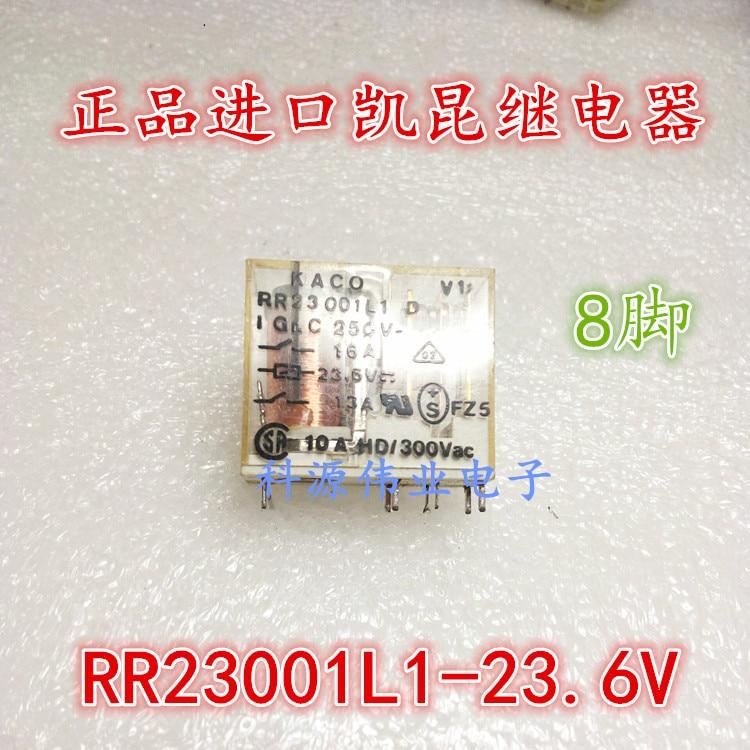 Relay KACO-RR23001L1-23.6V  8PIN 23.6VDCRelay KACO-RR23001L1-23.6V  8PIN 23.6VDC