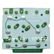 Fast Free shipping ! key pad for PC200-6 monitor key board plate/key pad for komatsu digger/Komatsu Excavator key board parts