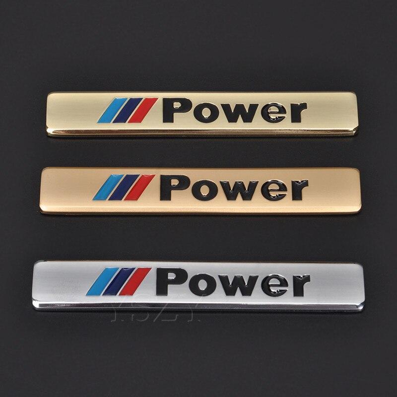 BMW M POWER FRAMES EURO for LICENSE  PLATES 2pcs M1 M2 M3 M4 M5 M6 X1 X2 X3 X5