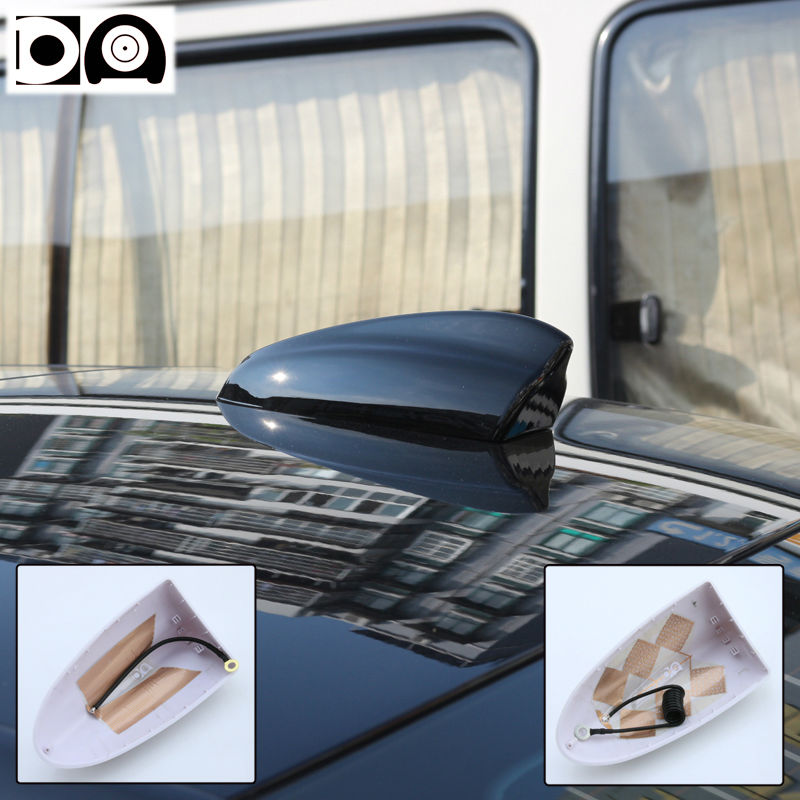 Seat Arona accessories Super shark fin antenna special car radio aerials ABS plastic Piano paint Stronger signal Bigger size in Aerials from Automobiles Motorcycles