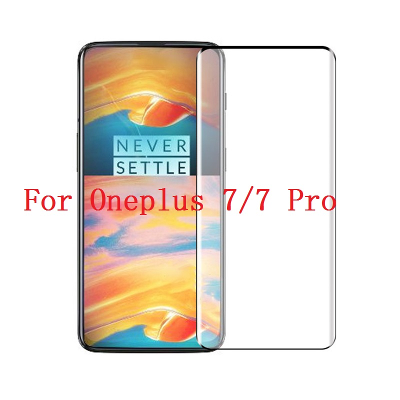5D Tempered Glass For font b Oneplus b font font b 7 b font font b