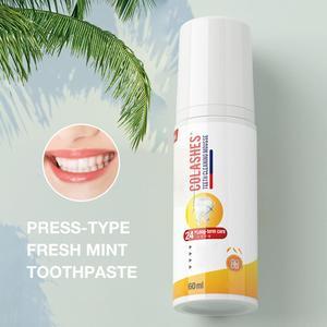 60ml Toothpaste Whitening Foam