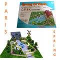 Paris spring fashion model puzzle southers