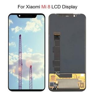 Image 1 - Super Amoled LCD Screen Für Xiaomi Mi 8 LCD MI 8 Explorer Display Digitizer Montage Touch Screen Für Xiaomi Mi8 LCD Mi 8 SE LCD