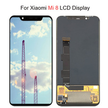 Xiaomi Mi 8 LCD MI 8 탐색기 디스플레이 디지타이저 어셈블리 터치 스크린 Xiaomi Mi8 LCD Mi 8 SE LCD 용 슈퍼 Amoled LCD 화면