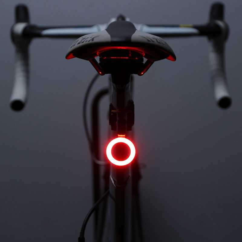 2019 Multi Lighting Modes Bicycle Light USB Charge Led Bike Light Flash Tail Rear Bicycle Lights for Mountains Bike Seatpost