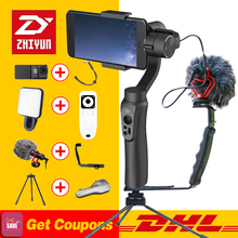 Zhiyun LISSE Q 3-Axis Cardan Stabilisateur De Poche pour Smartphone d'action caméra téléphone Portable sjcam cam PK feiyu dji osmo