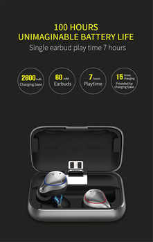 Mifo O5 Bluetooth 5.0 True Wireless Bluetooth Headset Binaural Mini Earbuds In-Ear HIFI Waterproof Earphones free shipping