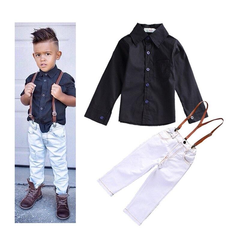 Buy 2015 Autumnchildren Boys Fashion Clothing Set Baby Boys Casual Long Sleeve