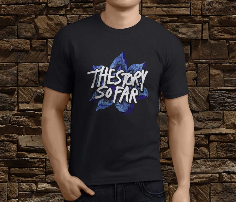 Tee Shirts Hipster Crew Neck Graphic New The Story So Far Pop Punk Band Short Sleeve T Shirts For Men