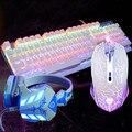 Wrangler 104 ключей красочные подсветкой механической клавиатуры + макроопределение мышь + limited edition Световой гарнитура 3 в 1 компл.