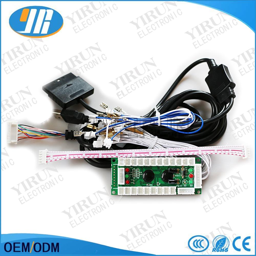 PS2/PS3/PC/XBOX360 pcb placa de Encoder USB Para Joystick de ...