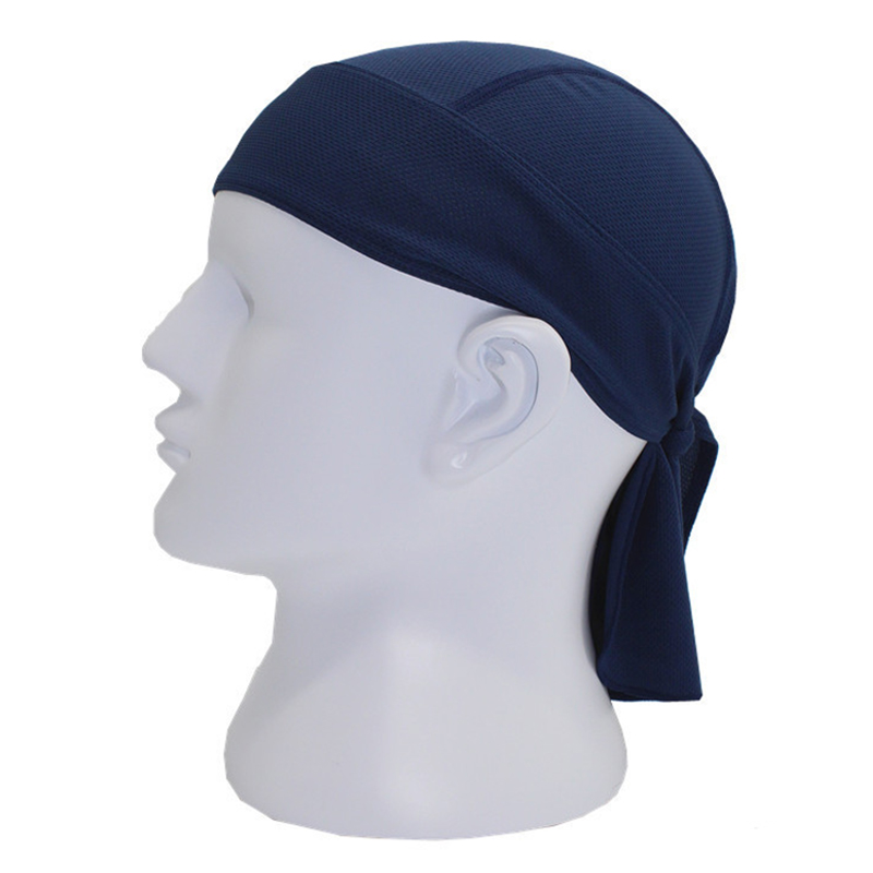 Sports soft equipment riding outdoor sports hat scarf breathable quick-drying sunscreen motorcycle cap color:Navy