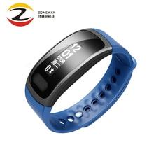 2 шт. Сенсорный экран SX100 Смарт часы браслет группа крови кислорода монитор сердечного ритма шагомер фитнес PK A09 PKID107 PK miband2