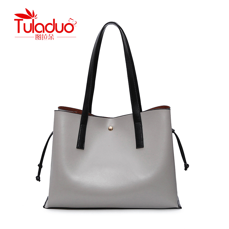 TULADUO High Quality Luxury Handbags Women Bags Designer Brand Famous Patent Leather Bags for women Adjustable String Tote Bag paste lady real leather handbags patent famous brands designer handbags high quality tote bag woman handbags fringe hot t489