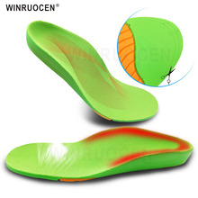 WINRUOCEN Doctor Recommends Children's Insoles O/X Leg Foot Valgus Arch Support Orthosis Flat Foot Correction Insole Foot Care