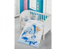 Комплект постельного белья детский cottonbox,Victoria baby, Ocean