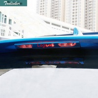 1 Pcs Stainless Steel Car Styling Rear High Brake Lights Sticker Case Cover Stickers For TOYOTA