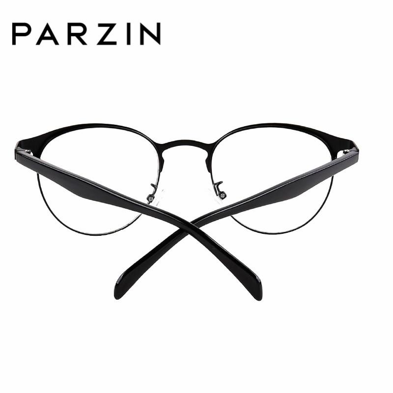 5f2e856c891 PARZIN Glasses Frame With Clear Lens Fashion Tortoiseshell Myopia Glasses  Frame Online Shop Unisex Eyewear Accessories 5062-in Eyewear Frames from  Men s ...