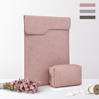 Laptop Bag For Macbook Air 13 Pro 13 Laptop Case For Touchbar 13 Waterproof PU Leather