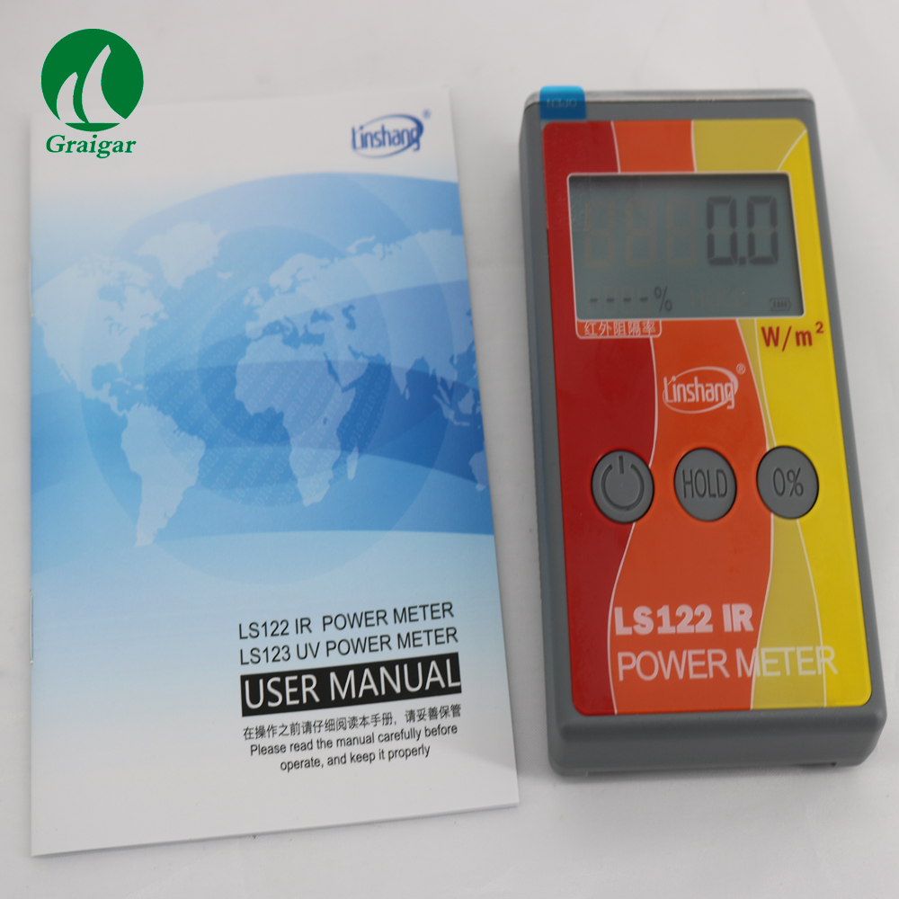цена на LS122 IR Power Meter for Measuring the Optical Power Density of Infrared Ray and IR Transmission Value