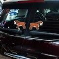 2 x Bulldog Abrir A Porta de Advertência Reflexivo Etiqueta Do Carro Decalque para Mini Cooper Clubman Compatriota Escotilha R50 51 55 53 56 F50