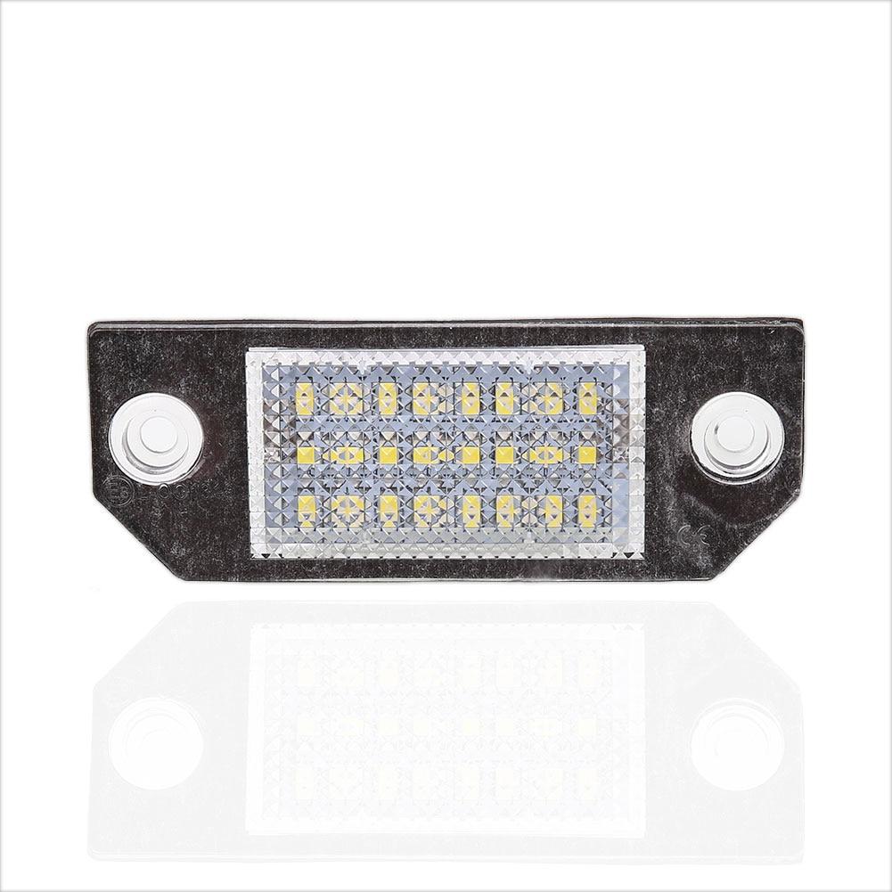 Vehemo 2шт 18 LED автомобиля 12V автомобилей номерного знака-Лампа Для Форд Фокус с-Макс