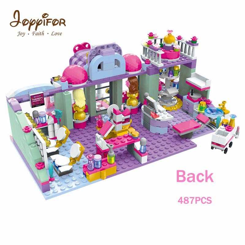 Joyyifor Большие размеры 3D DIY любовный девушка и друзей в городе головоломки детей интеллектуальной игрушки забавные мудрость детские игрушки