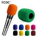 Microphone Foam Cover Black Handheld Stage Microphone Karaoke DJ Windscreen Sponge Foam Mic Cover EN9988